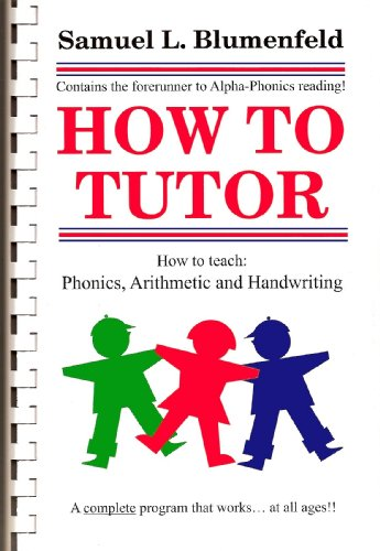 9780941995252: How To Tutor Comb Bound Version