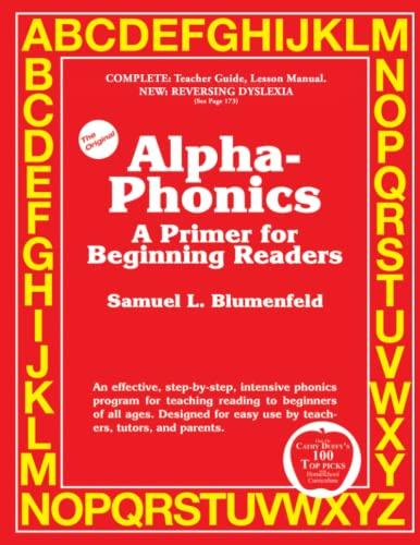 9780941995320: Alpha-Phonics A Primer for Beginning Readers