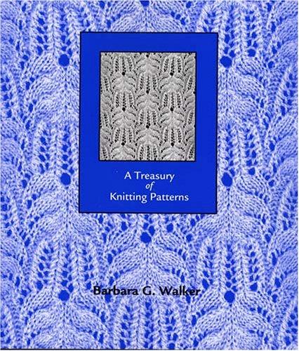 9780942018165: A Treasury of Knitting Patterns