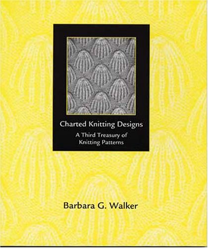 9780942018189: Charted Knitting Designs: A Third Treasury of Knitting Patterns
