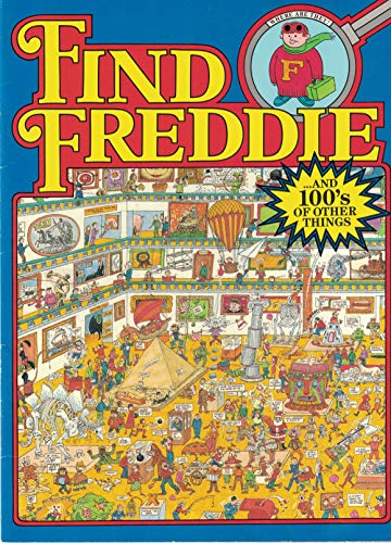 9780942025651: Find Freddie (Where Are They Series)