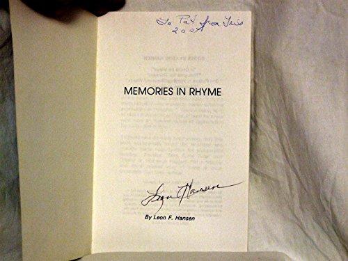 Memories in Rhyme: Leon Hansen
