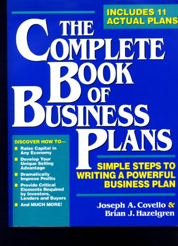 9780942061406: The Complete Book of Business Plans: Simple Steps to Writing a Powerful Business Plan (Small Business Sourcebooks)