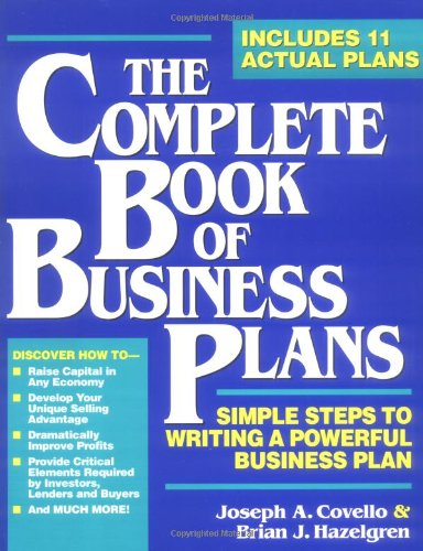 9780942061413: The Complete Book of Business Plans (Small Business Sourcebooks)