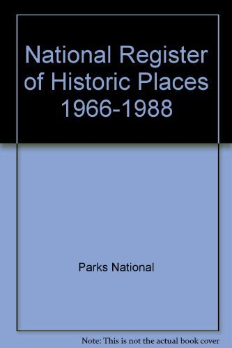 National Register of Historic Places, 1966-1988: Officers, National Conference of State Historic ...