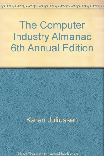 9780942107043: The Computer Industry Almanac 6th Annual Edition