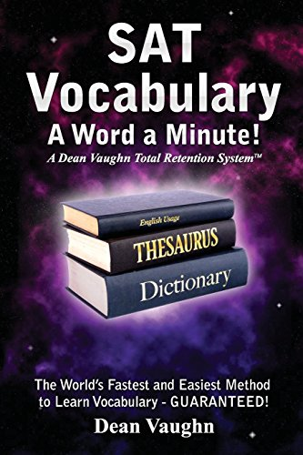 9780942168181: SAT Vocabulary - A Word a Minute! (Volume 1)