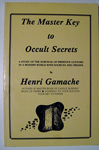Master Key to Occult Secrets