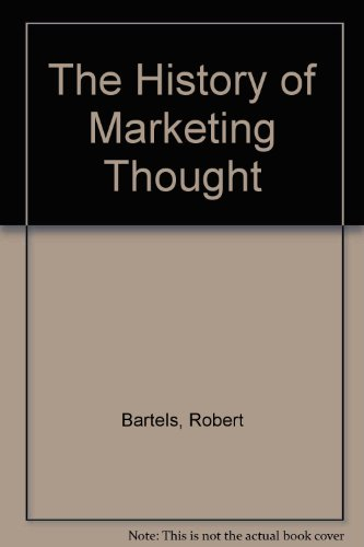 9780942280449: The History of Marketing Thought
