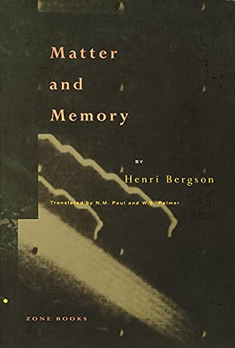9780942299052: Matter and Memory