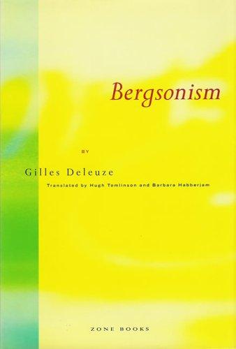 9780942299069: Bergsonism