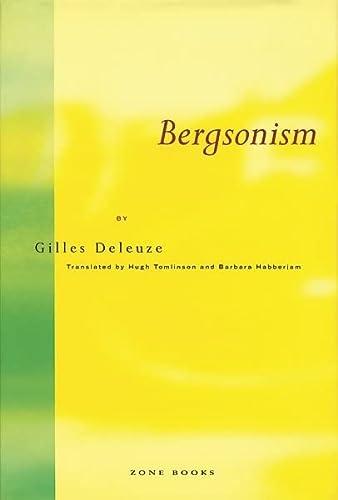 9780942299076: Bergsonism