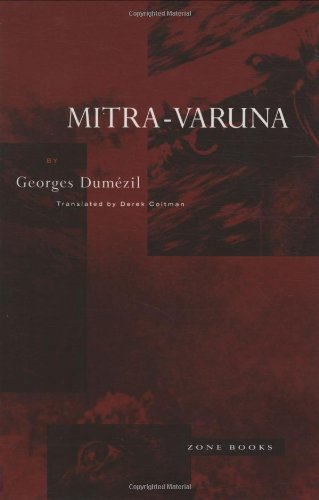 9780942299137: Mitra-Varuna: An Essay on Two Indo-European Representations of Sovereignty