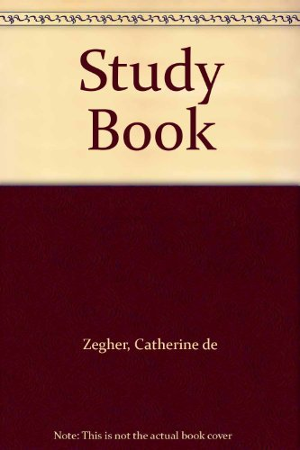 Joelle Tuerlinckx: Study Book: (Drawing Papers 59): Catherine de Zegher,