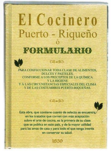 9780942347715: El cocinero puerto-Rique�o.