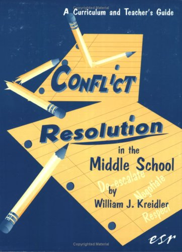 9780942349078: Conflict Resolution in the Middle School