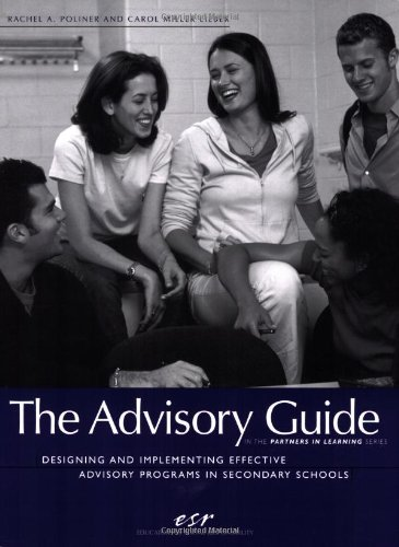 9780942349191: The Advisory Guide: Designing and Implementing Effective Advisory Programs in Secondary Schools