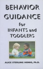 9780942388183: Behavior Guidance for Infants and Toddlers from Birth to 3 Years