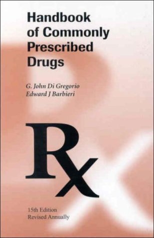 9780942447354: Handbook of Commonly Prescribed Drugs