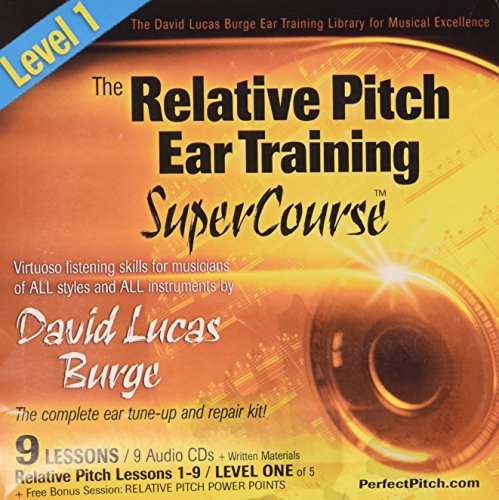 9780942542318: The Relative Pitch Ear Training SuperCourse : Level 1