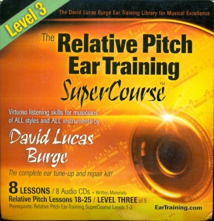 9780942542332: The Relative Pitch Ear Training SuperCourse : Level 3