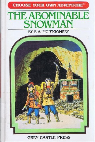 9780942545081: The Abominable Snowman (Choose Your Own Adventure #1)