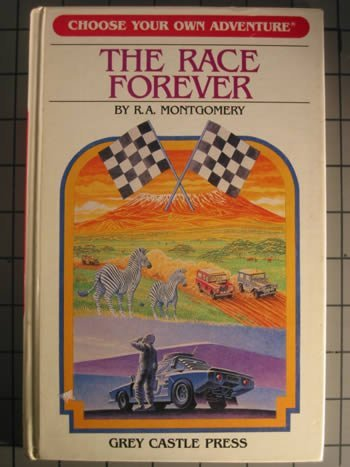 9780942545173: The Race Forever (Choose Your Own Adventure, # 17)
