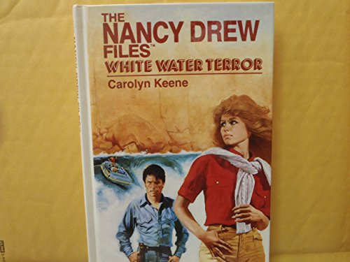 9780942545371: White Water Terror (Nancy Drew Files) [Large Print]