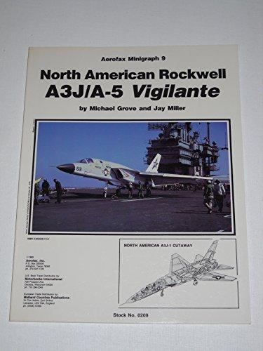 9780942548143: North American Rockwell A3J/A-5 Vigilante - Aerofax Minigraph 9