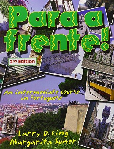 9780942566000: Para a Frente: An Intermediate Course in Portuguese