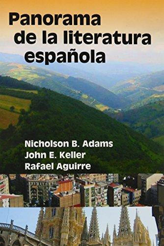 9780942566178: Panorama De LA Literatura Espanola (Spanish Edition)
