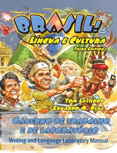 9780942566352: Brasil! Lingua E Cultura: Writing Manual and Language Lab Manual, 3rd Edition