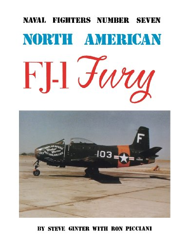9780942612073: North American FJ-1 Fury (Naval Fighters, Number Seven)