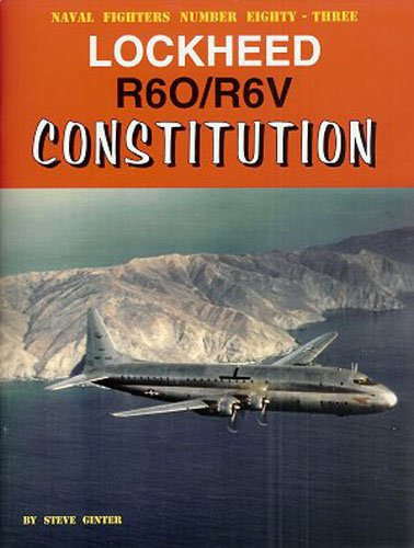 9780942612837: Lockheed R6O/R6V Constitution (Naval Fighters)
