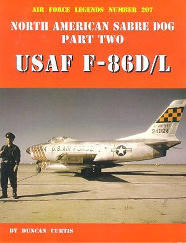 9780942612943: North American Sabre Dog USAF-86D/L