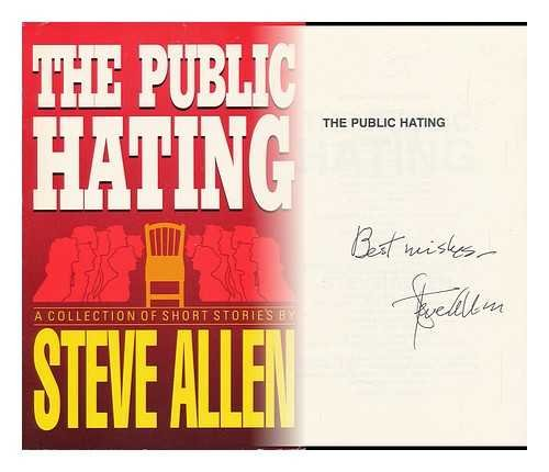 9780942637229: The Public Hating: A Collection of Short Stories