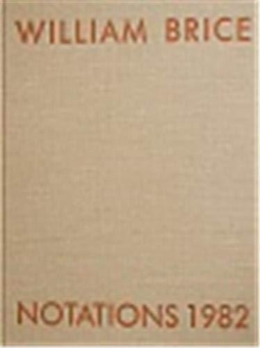 Notations 1982 - Brice, William