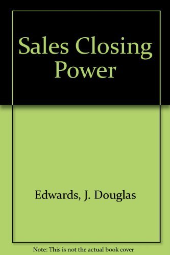 9780942645033: Sales Closing Power