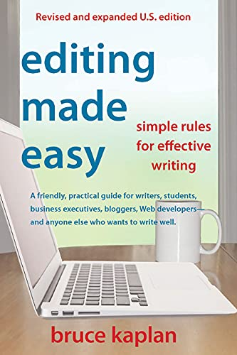 9780942679366: Editing Made Easy: Simple Rules for Effective Writing