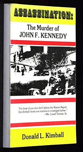Assassination: The Murder of John F.Kennedy (VG: Donald L. Kimball