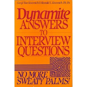 9780942710601: Dynamite Answers to Interview Questions