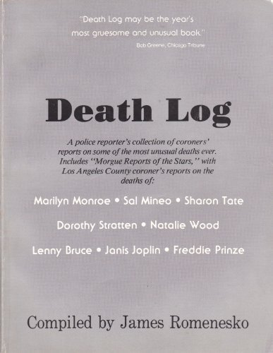 Death Log: Coroners' Reports on Some of: Romenesko,James,(Compiler)