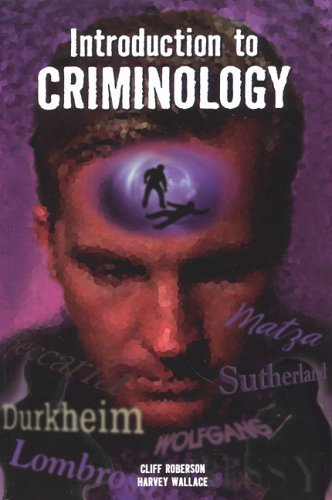 9780942728842: Introduction to Criminology