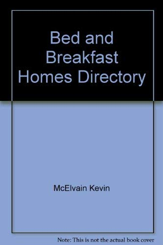 Bed and Breakfast Homes Directory: Knight, Diana; Knight, Diane
