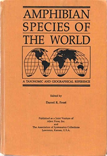 9780942924114: Amphibian Species of the World : A Taxonomic and Geographical Reference