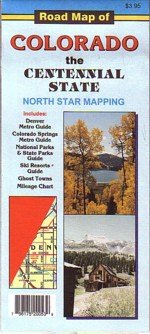 9780942927559: Road Map of Colorado : The Centennial State
