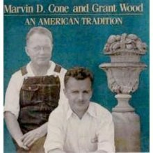 9780942982084: Marvin D. Cone and Grant Wood: An American tradition