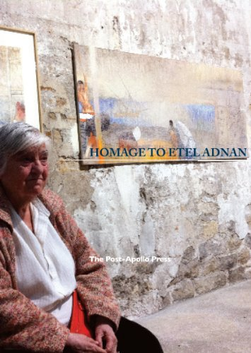 Homage to Etel Adnan: Ammiel Alcalay, Jen