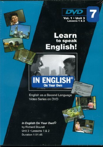 In English on Your Own Volume 1, Unit 2 (Set of 3 DVDs) (In English, Volume 1): Richard Bourell