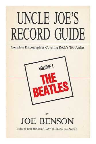 9780943031019: The Beatles (Uncle Joe's Record Guides)